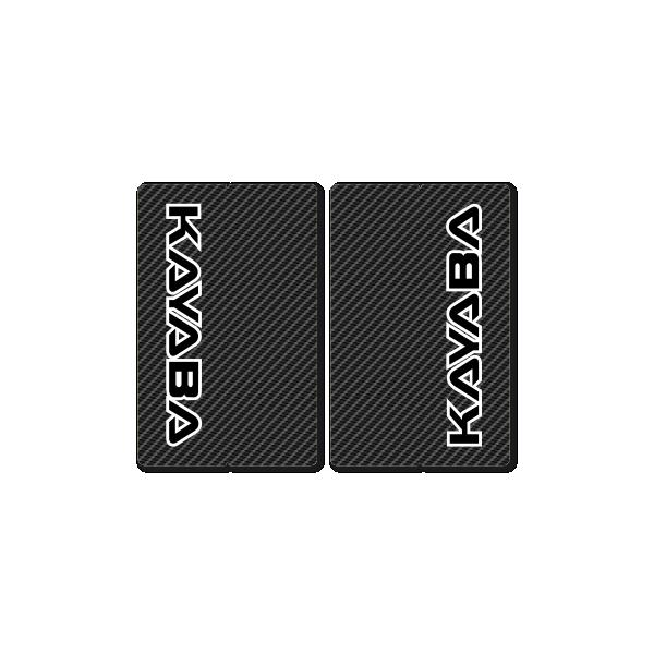 KAYABA CARBON FORK DECALS – FACTORY REPLICA – BLACK